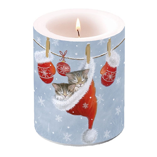 decorative candle - Just Sleepy