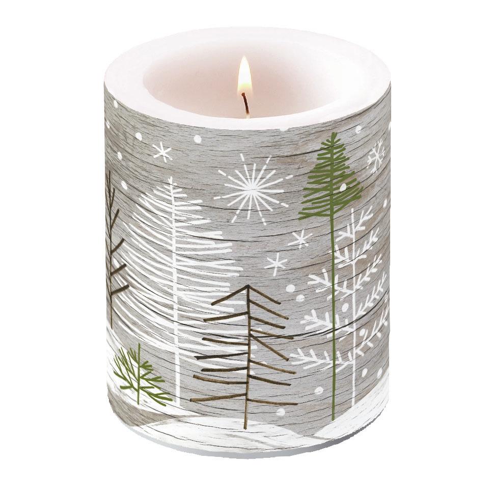 świeca dekoracyjna - Trees On Wood