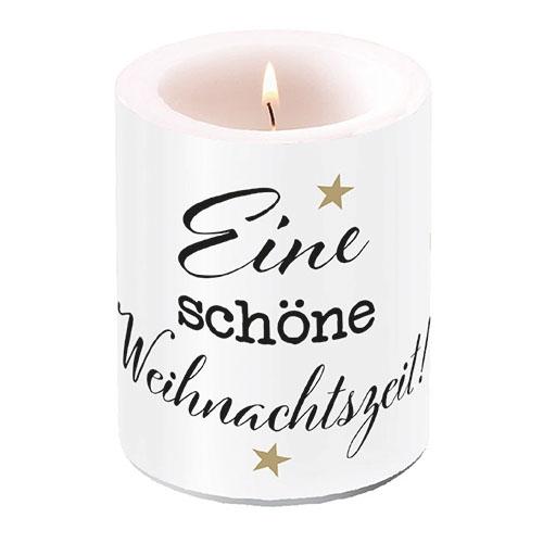 świeca dekoracyjna - Weihnachtszeit