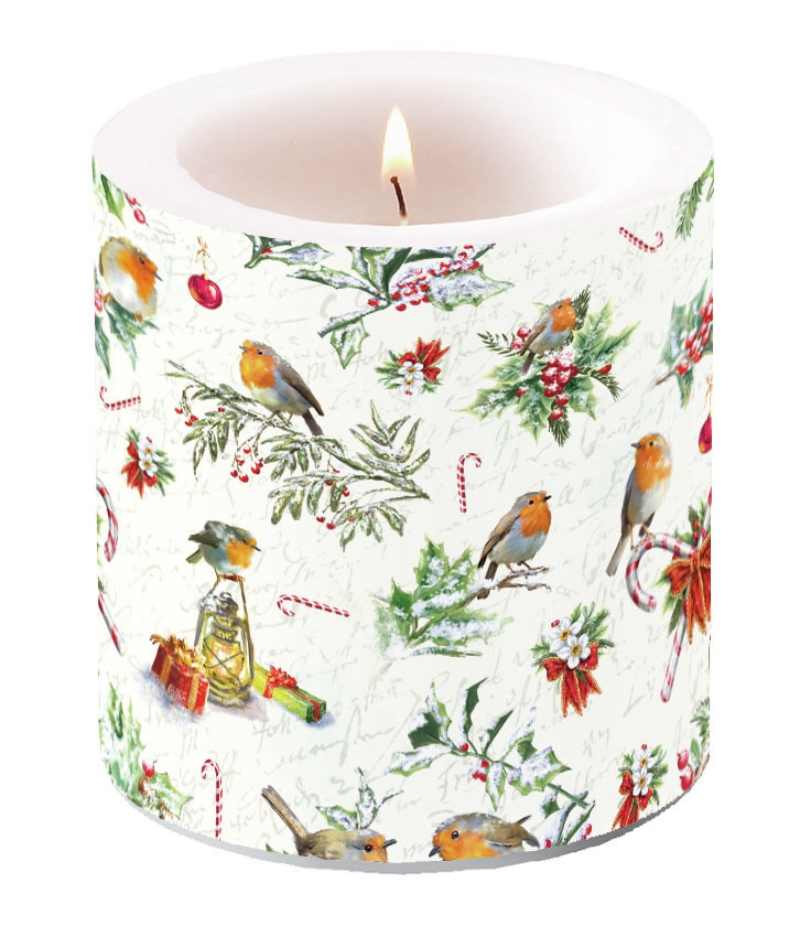 Decorative candle small - Christmas Ornaments