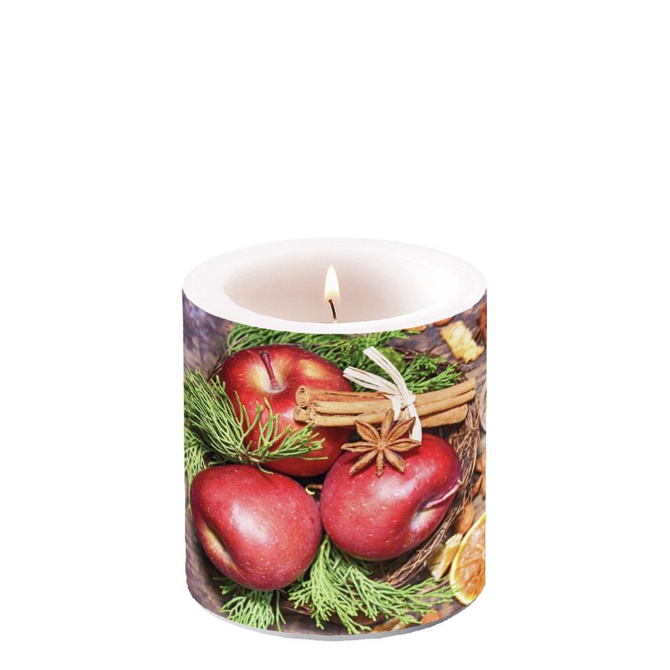 Świeca dekoracyjna mała - Winter Apples
