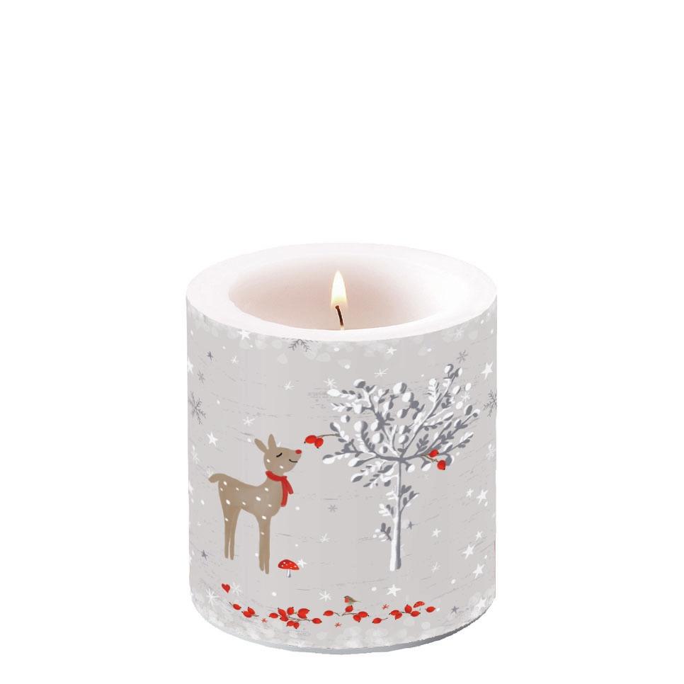 Świeca dekoracyjna mała - Sniffing Deer