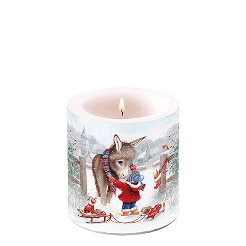Świeca dekoracyjna mała - Keeping Warm