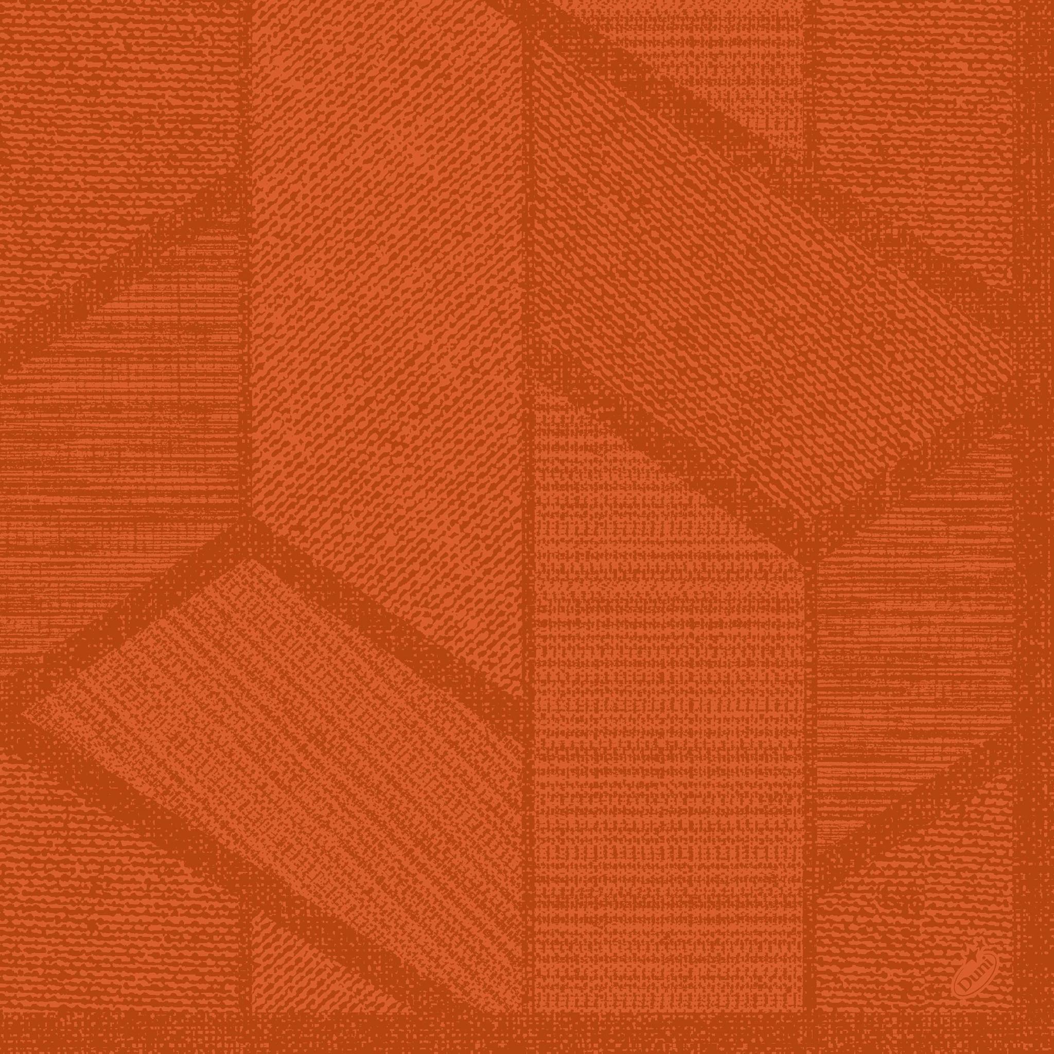 Dunisoft napkins 40x40 cm - Elwin Mandarin