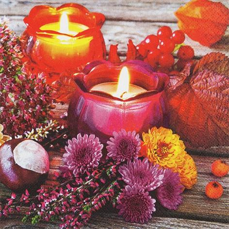 Servilletas 33x33 cm - Autumn Lantern
