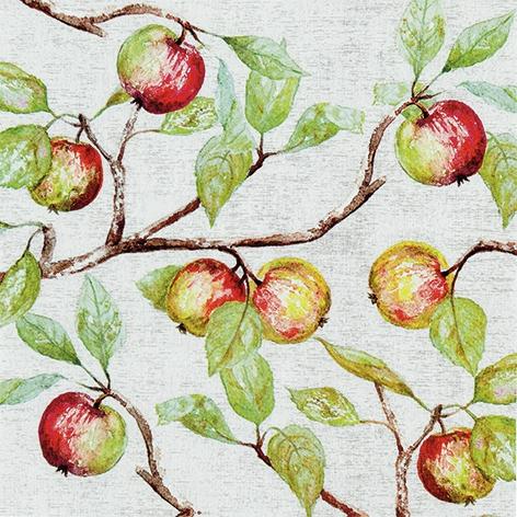 Napkins 33x33 cm - Apple Branches