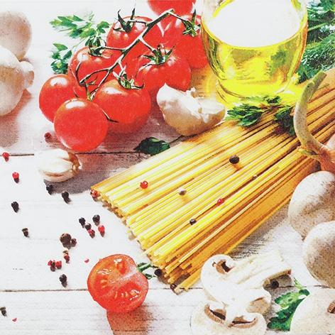 Tovaglioli 33x33 cm - Spaghetti