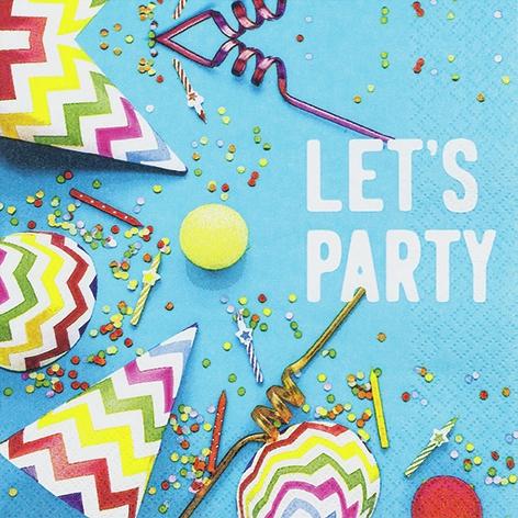 Servilletas 33x33 cm - Lets Party