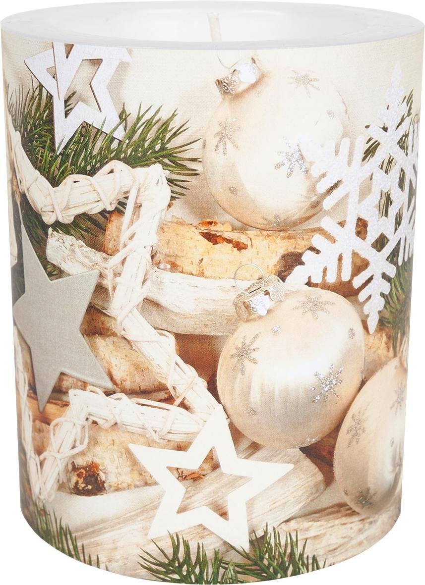 decorative candle - Xmas Harmony 99 mm