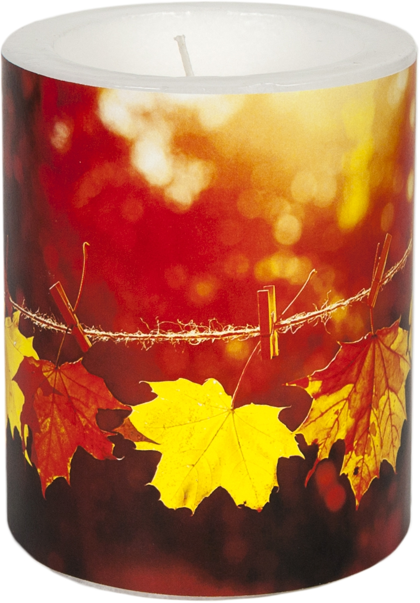 decorative candle - Sunny Fall 99 mm