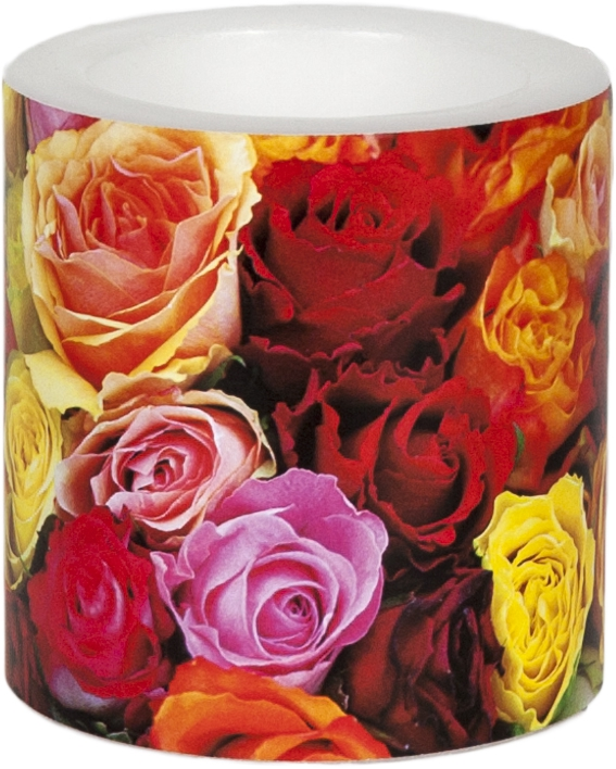 decorative candle - Carpet of Roses