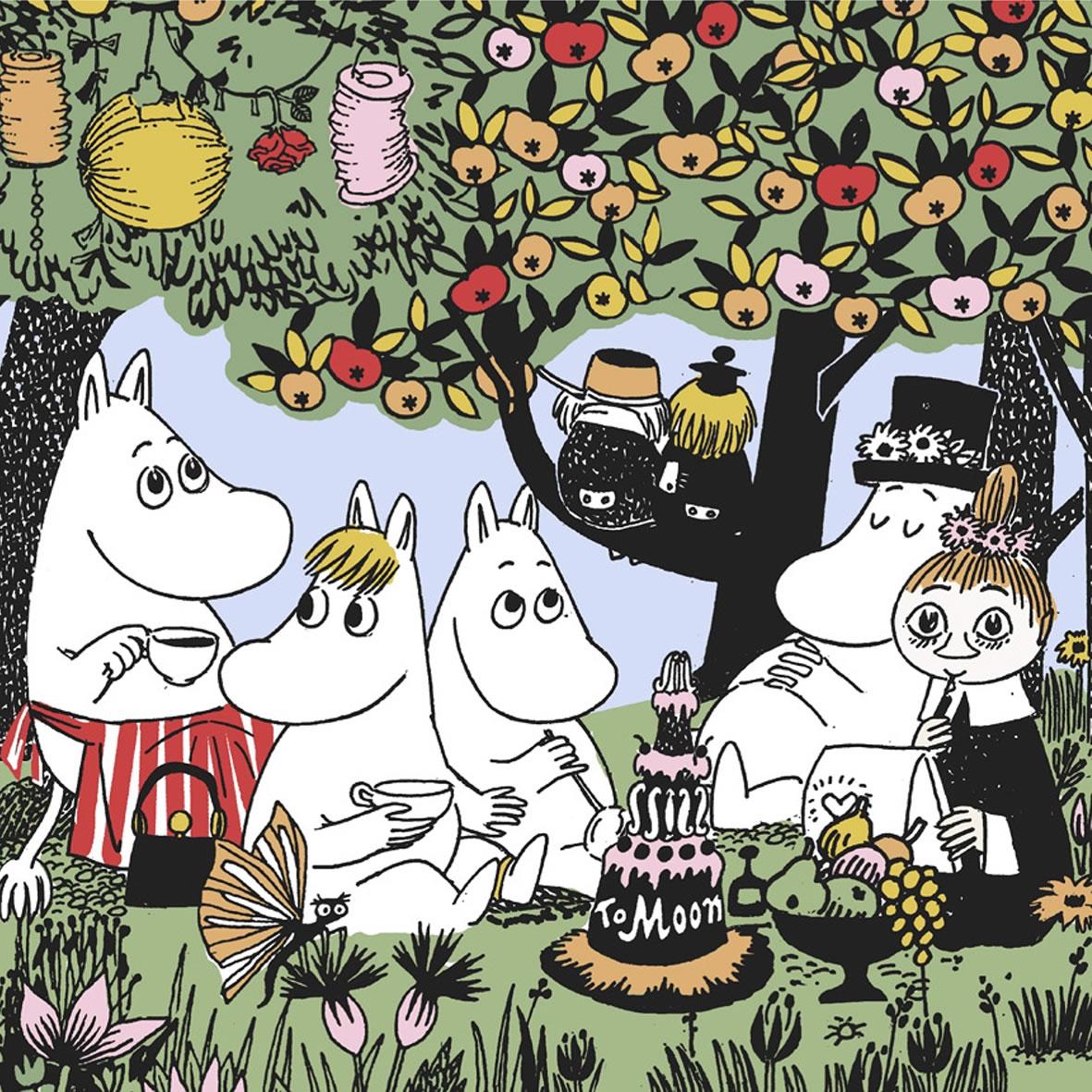 Serviettes 33x33 cm - Party Moomin