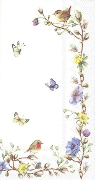 Servilletas de buffet - EASTER FLOWERS (V&B)