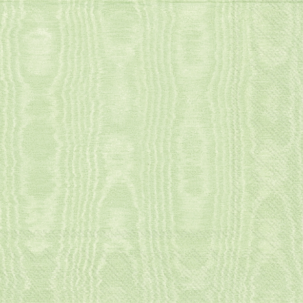 Napkins 25x25 cm - MOIREE light green
