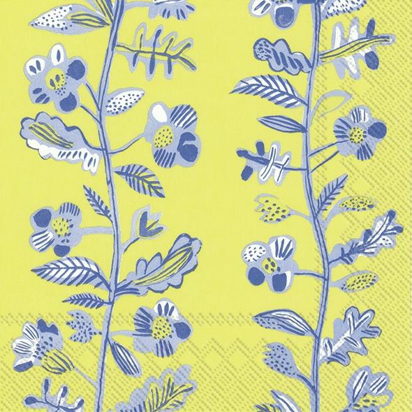 Napkins 25x25 cm - SUMMER ANNICA lime