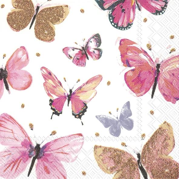 Servilletas 25x25 cm - NATHALIE pink