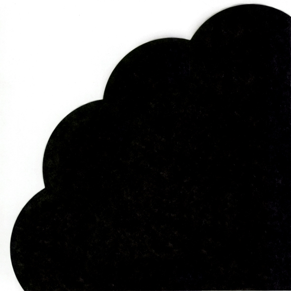 Napkins - Round - UNI black