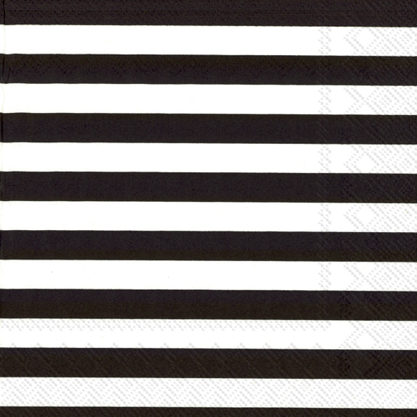 Napkins 33x33 cm - TASARAITA black