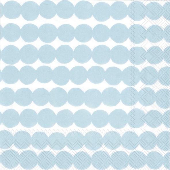 Napkins 33x33 cm - RÄSYMATTO light blue