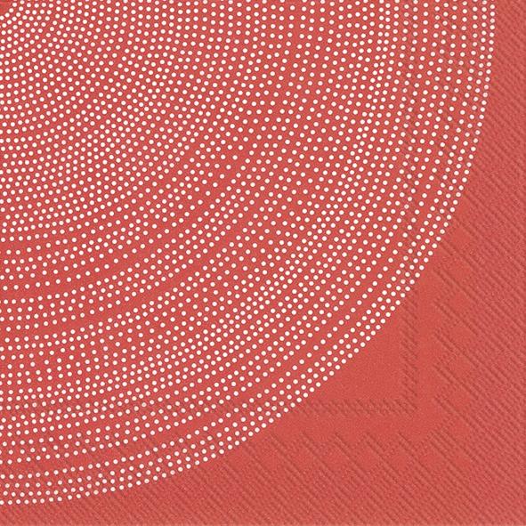 Napkins 33x33 cm - FOKUS red