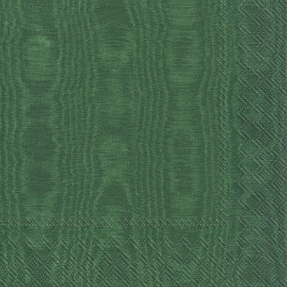 Napkins 33x33 cm - MOIREE green