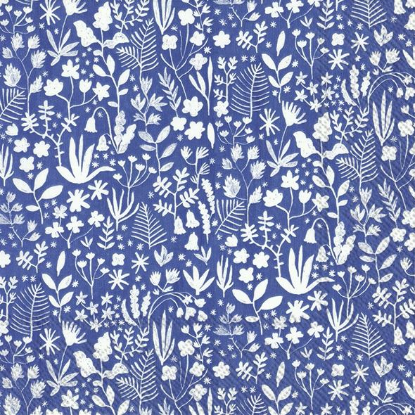 Servilletas 33x33 cm - SUMMER ANNI blue