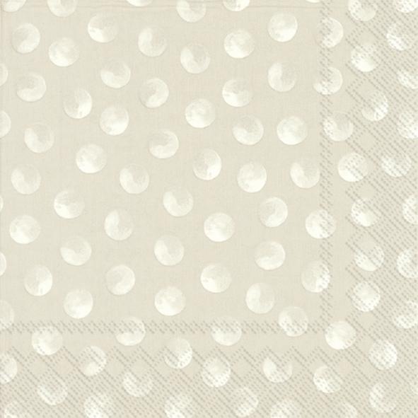 Napkins 33x33 cm - PIGGY DOTS linen
