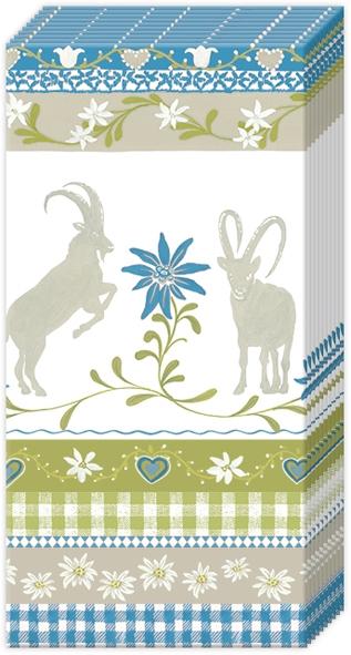 Handkerchiefs - MOUNTAIN CHARM blue