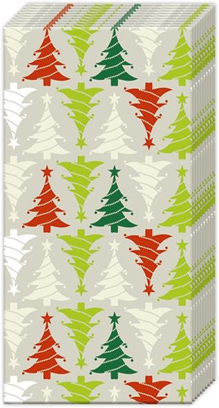 Pañuelos - TREES IN LINE linen