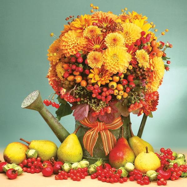 Servilletas 33x33 cm - Autumn Composition