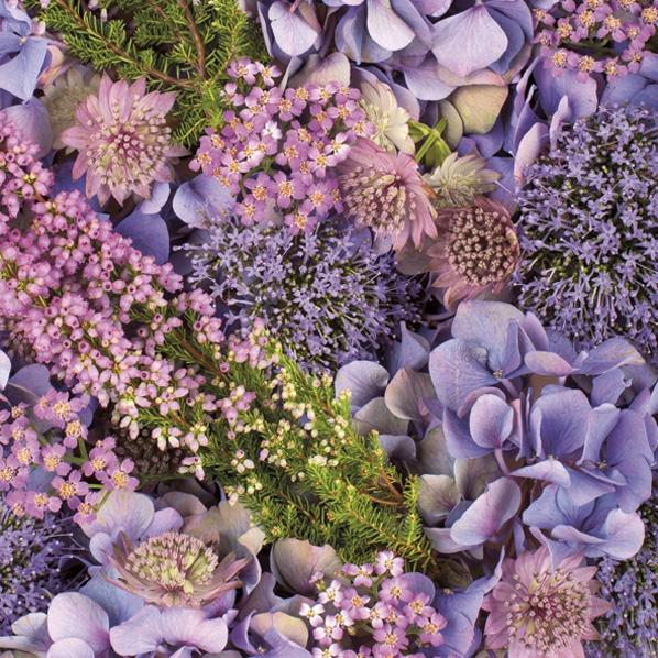 Servilletas 33x33 cm - Autumn Purples