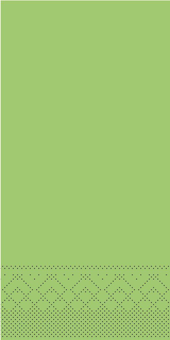 Serwetki chusteczki 33x33 cm - BASIC  KIWI  33x33 cm 1/8-Falz