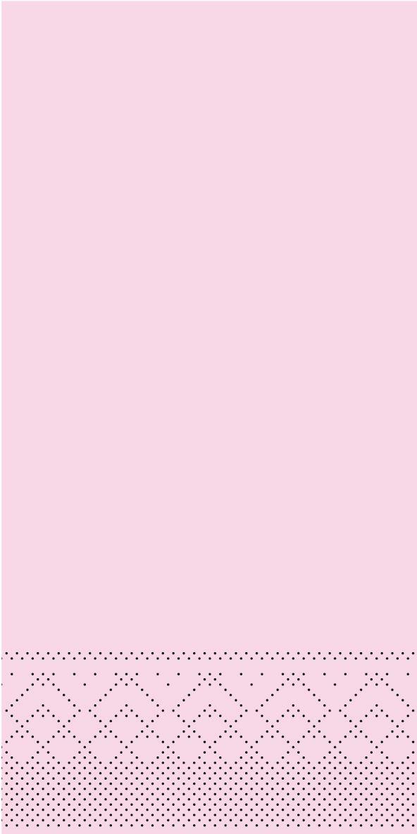 Serwetki chusteczki 33x33 cm - BASIC  ROSA  33x33 cm 1/8-Falz