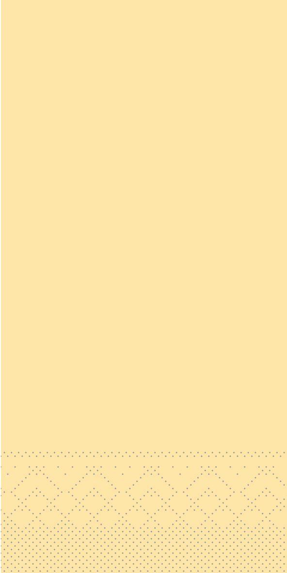Serwetki chusteczki 33x33 cm - BASIC  CREME  33x33 cm 1/8-Falz