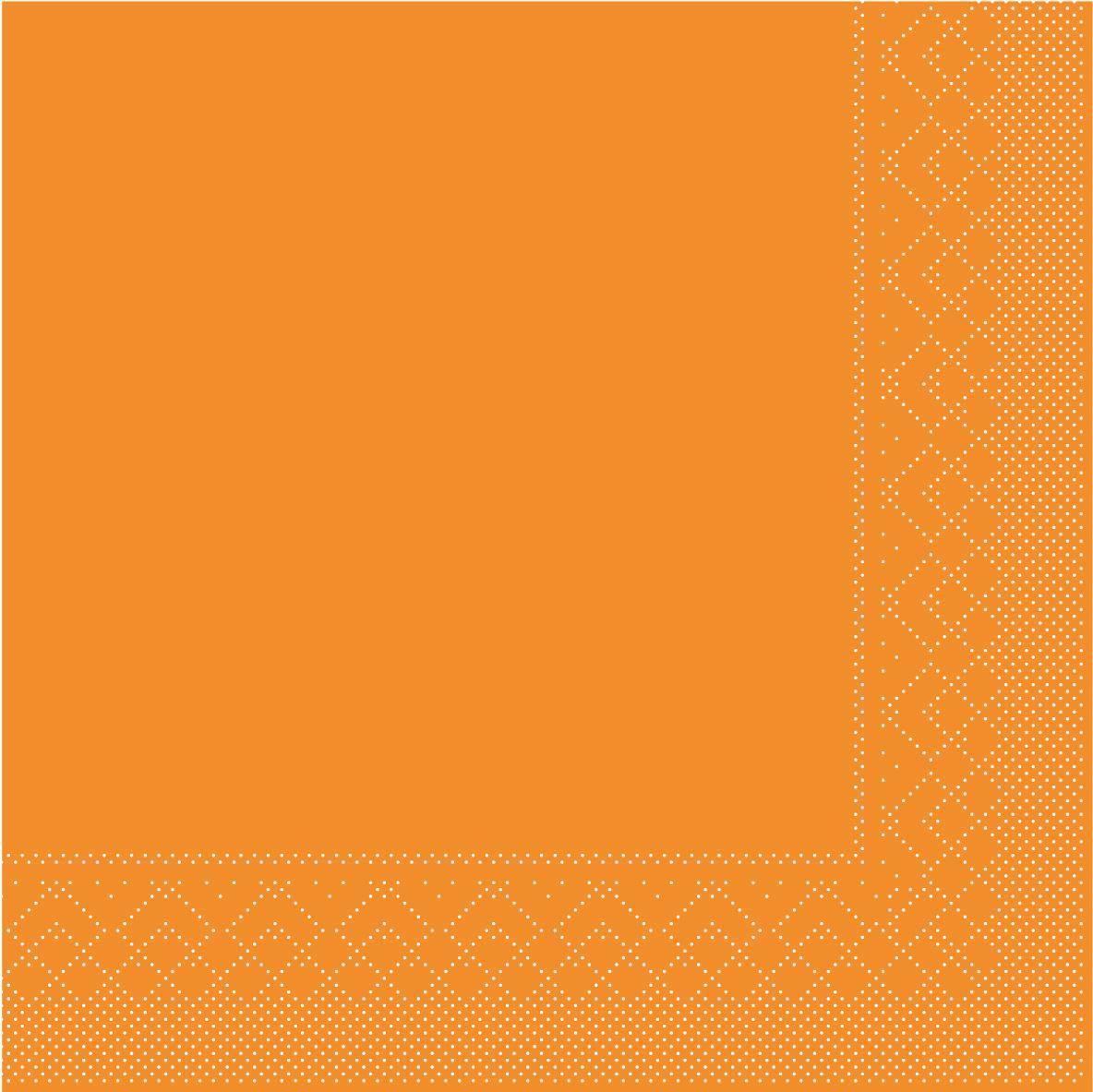 Serwetki chusteczki 25x25 cm - BASIC  CURRY  25x25 cm