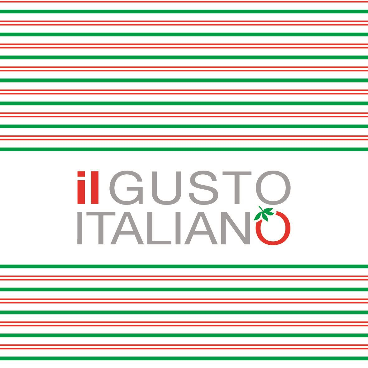 Servilletas Linclass 40x40 cm - il GUSTO ITALIANO