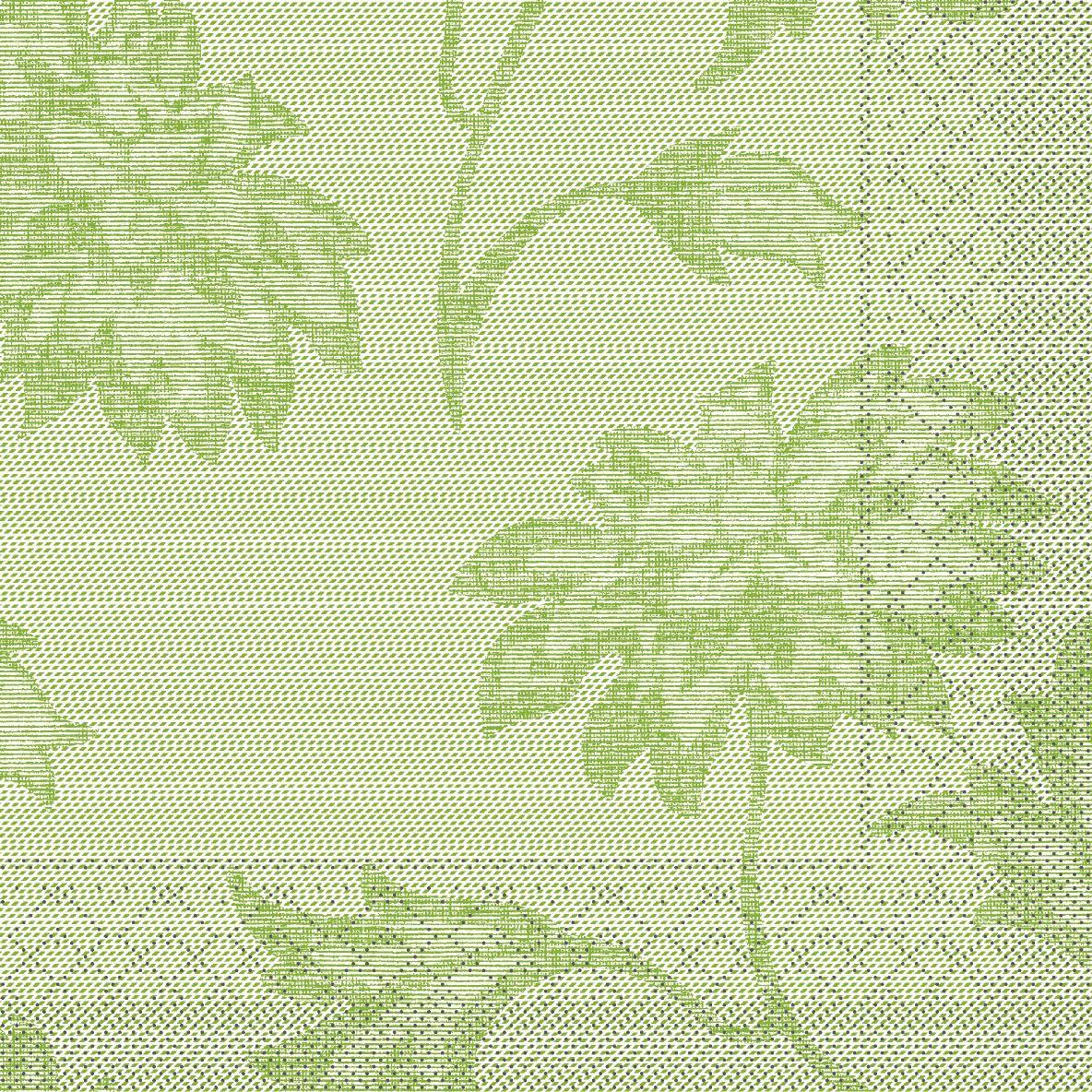 Tissue napkins 33x33 cm - Lisboa  (schilfgrün)