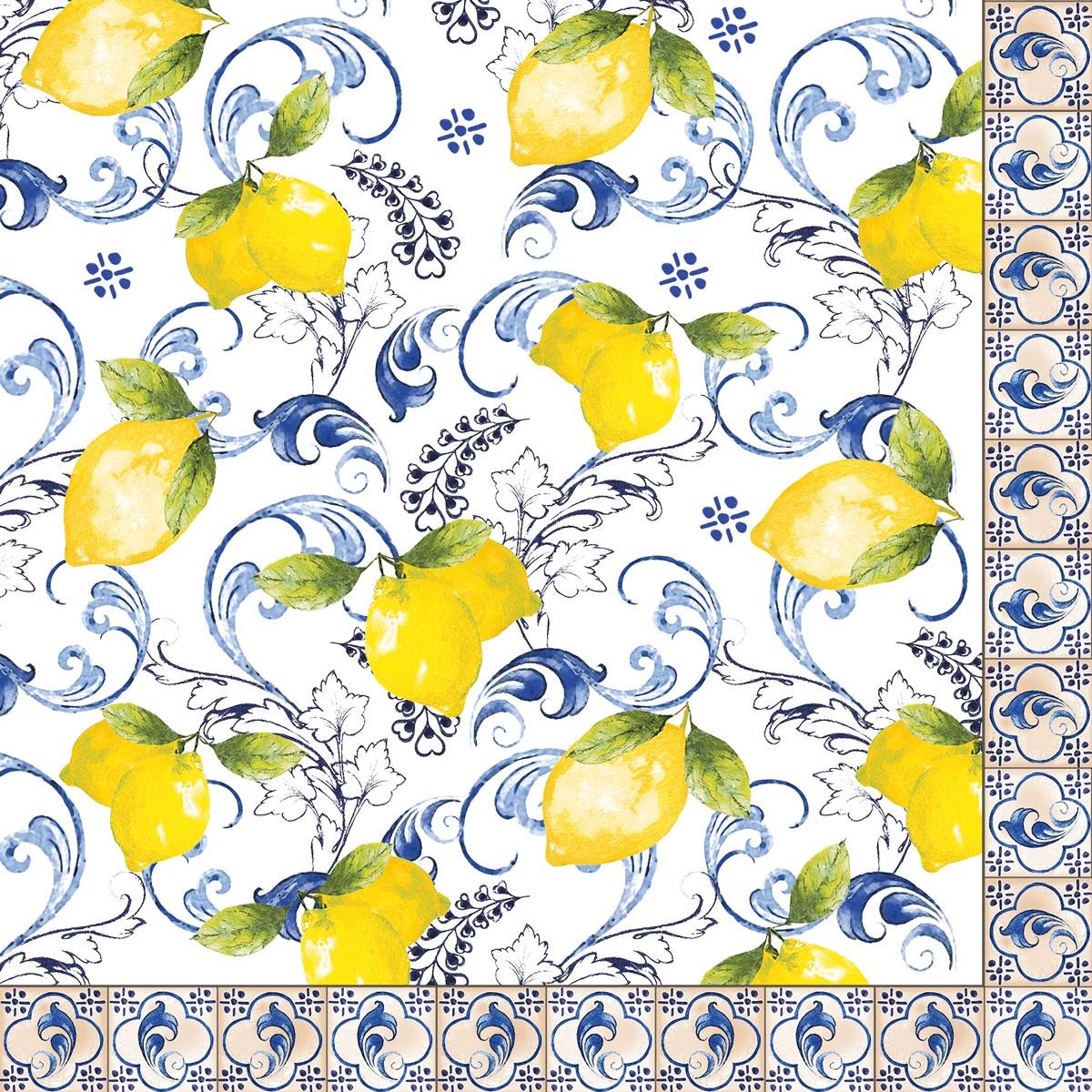 Servilletas 33x33 cm - Lemon Garden