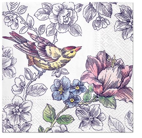 Napkins 25x25 cm - Dream Garden