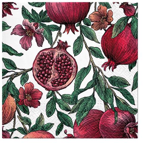 Servilletas 25x25 cm - Pomegranate