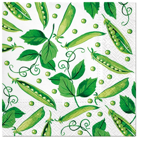 Napkins 33x33 cm - Fresh Green Pea
