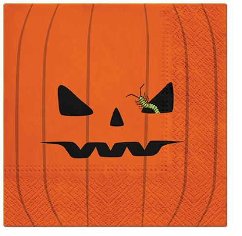 Servilletas 33x33 cm - Pumpkin Face