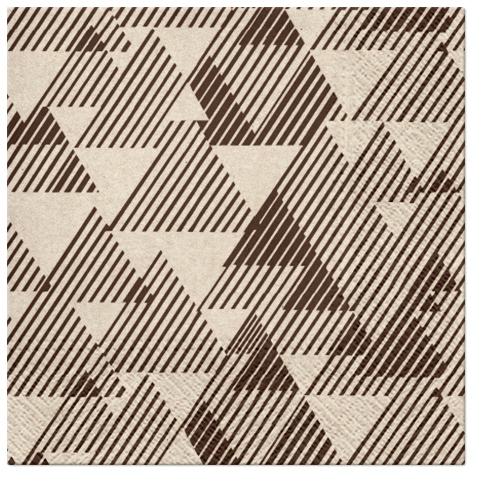 Servilletas 33x33 cm - We Care Triangles