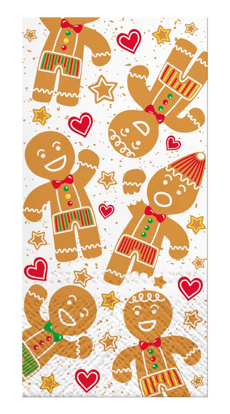 Handkerchiefs - Gingerbread Men