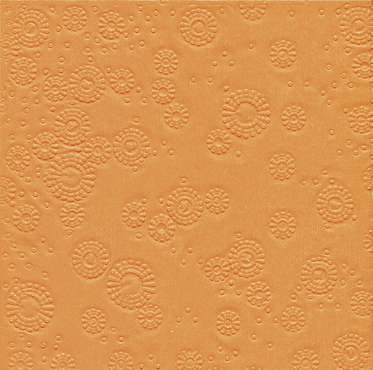 Servietten 33x33 cm - Moments Uni orange