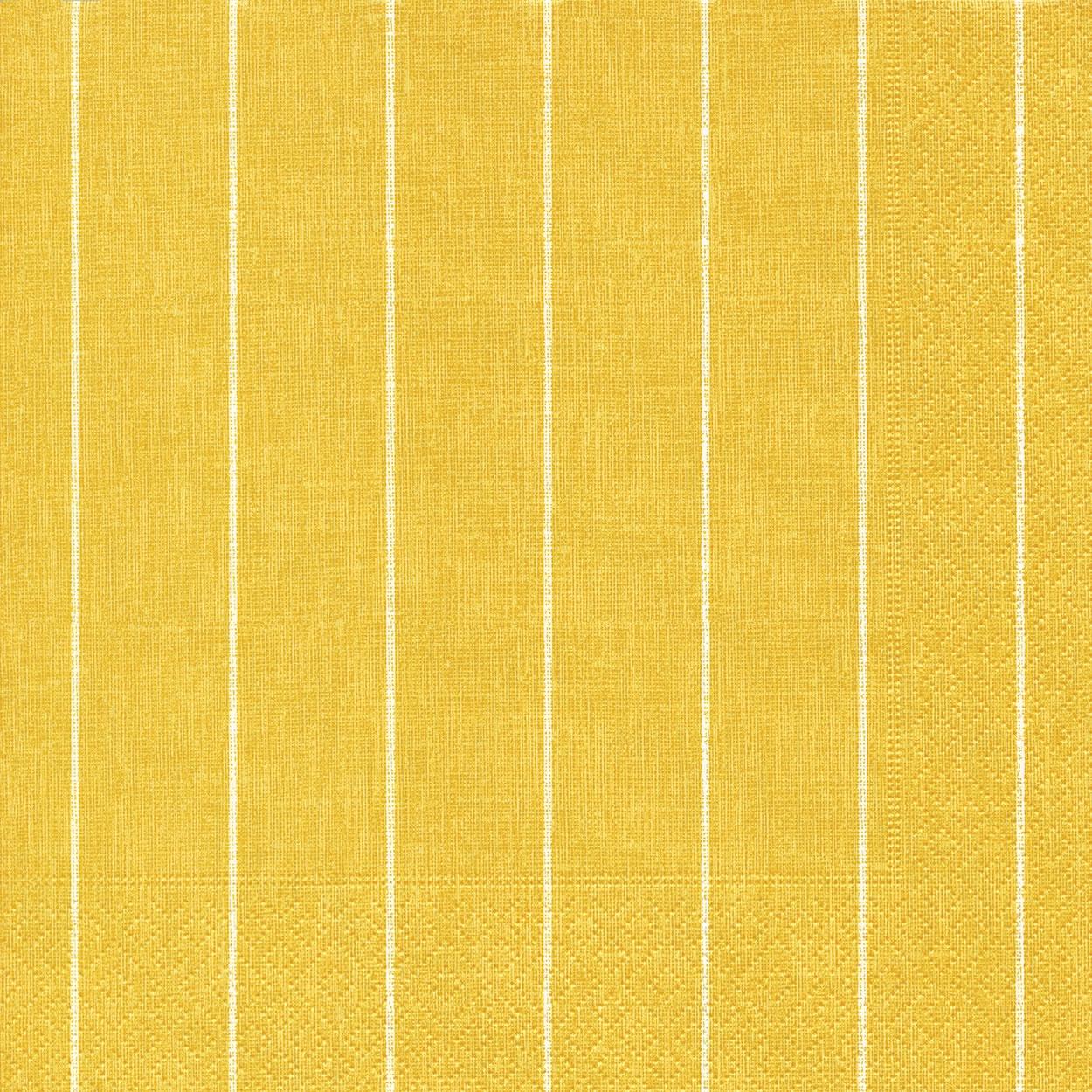 Napkins 40x40 cm - Home yellow