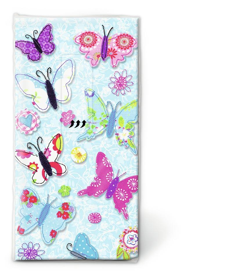Handkerchiefs - Handmade butterflies