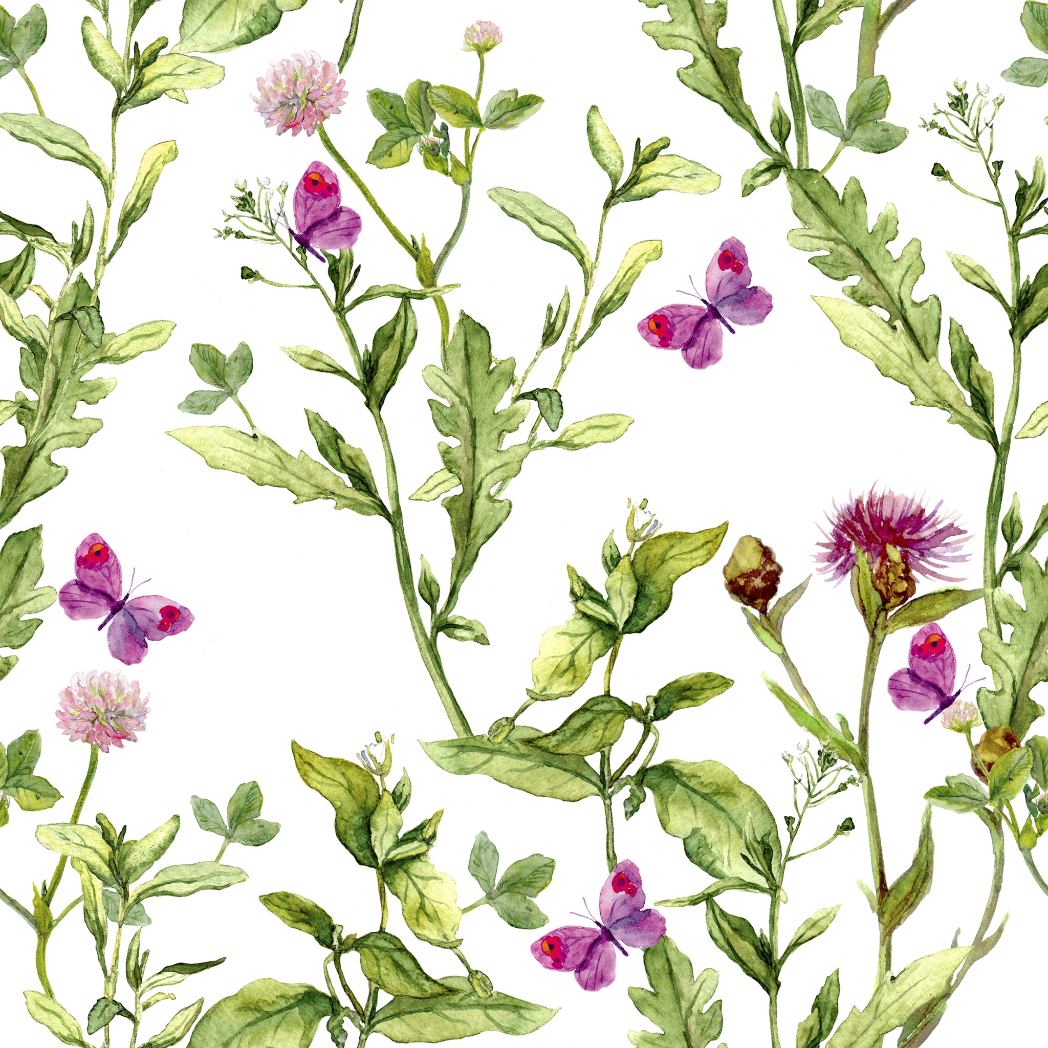Napkins 24x24 cm - Pink Spring