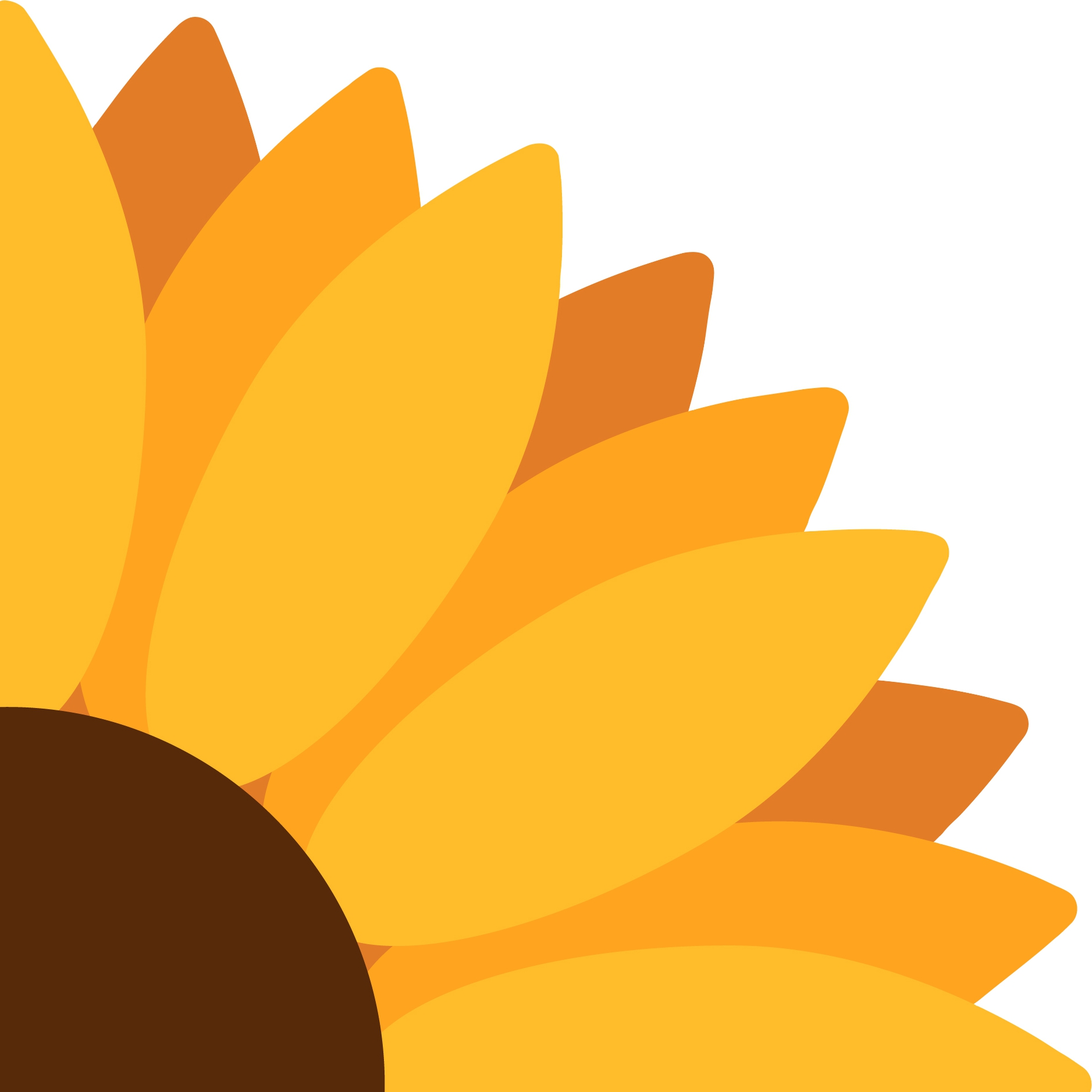 Servilletas troqueladas - Sunflower