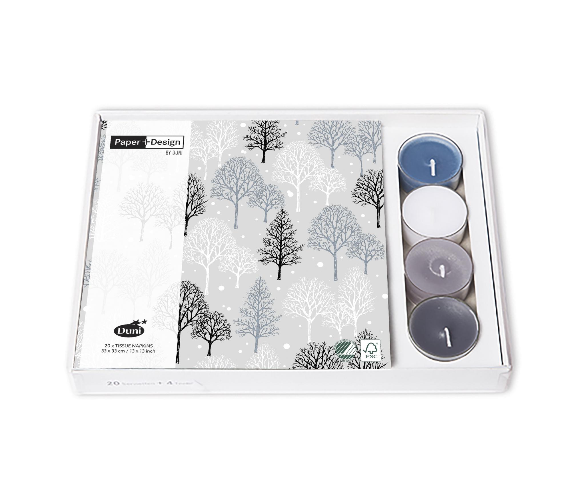 Combibox - Winter trees